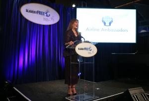 Awardee Nancy Rivard of Airline Ambassadors